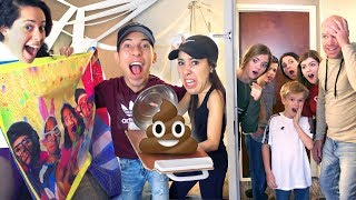 Hotel Room Pranks on That YouTub3 Family! *They got us back!*