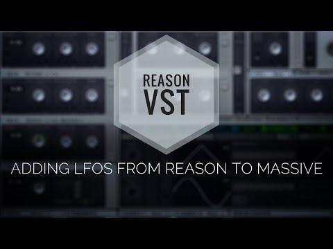 VST in Reason 9.5 - Adding New LFOs to NI Massive