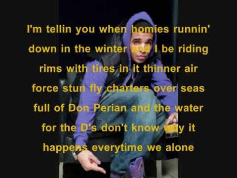 November 18th- Drake w/ Lyrics on screen