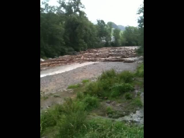 Zulg Hochwasser