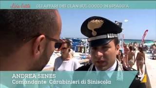 Il racket del ''cocco fresco'' sulle spiagge della Sardegna.