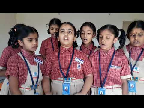 Sri Chaitanya School    Primary Students    Awesome MATHS Song Composed & Sung