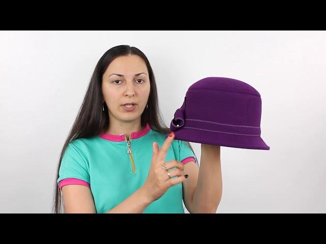 Шляпа, Вилора Фиолетовая