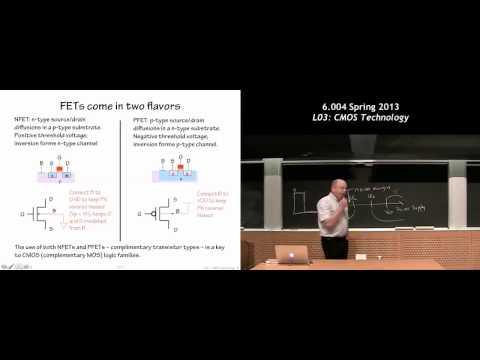 MIT 6.004 L03: CMOS Technology
