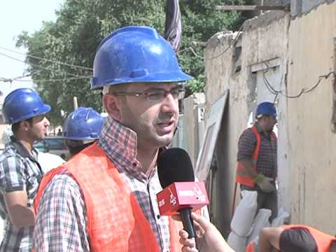 IRAQ Builders/asia tv التقرير الذي بثته قناة اسيا الفضائية عن المهمة 24  لفريق بناة العراق