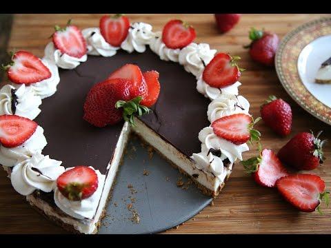 Չթխվող Չիզքեյք - No Bake Vanilla Cheesecake Recipe - Heghineh Cooking Show in Armenian