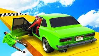 STEALING JELLY'S CAR TO WIN! - GTA 5 Funny Moments