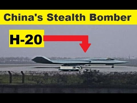 China Developing H-20 New Stealth Bomber