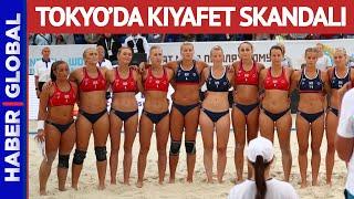 Bikini Altı Giymeyince Ceza Aldılar! Tokyo Olimpiy