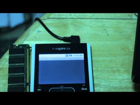 Android on the TI nSpire -- Lunar Lander Demo