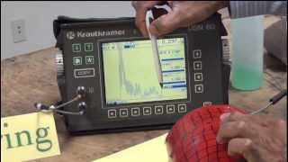 Birring NDT Series, Ultrasonic Testing # 1B, Thickness Measurement Calibration Steps