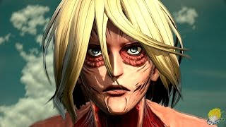 Repeat youtube video Attack on Titan: Wings of Freedom  - Eren Vs Female Titan (Round 1) Gameplay【FULL HD】