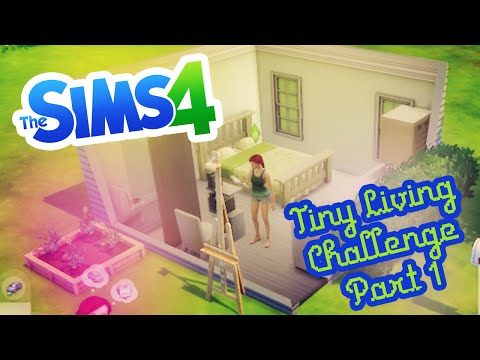 Sims 4 Tiny Living Challenge Part 1 (PNG Plays)