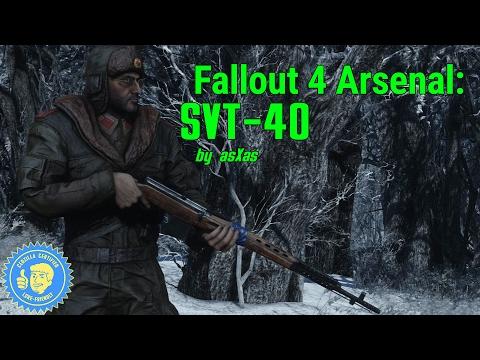 Fallout 4 Arsenal: SVT 40 by asXas (PC & XB1)