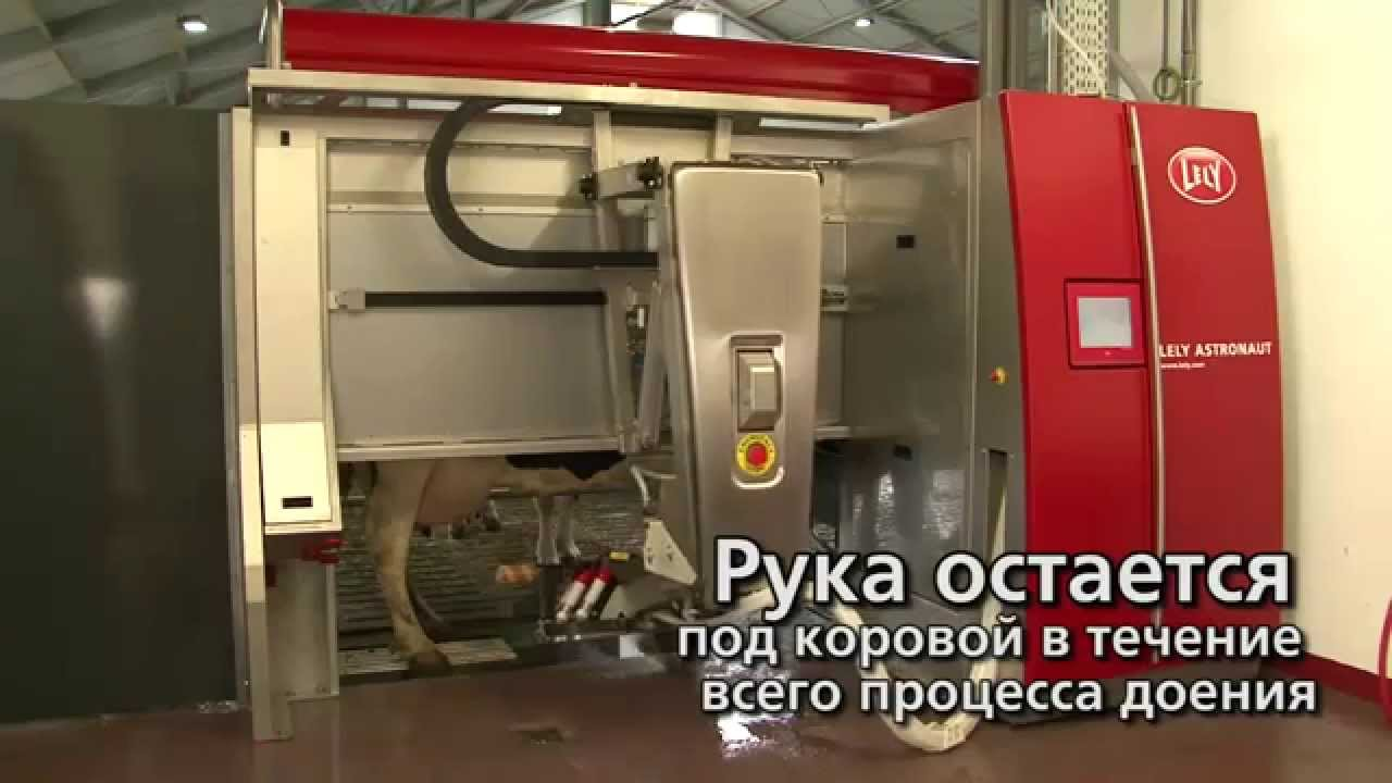 Lely Astronaut A4 - Milking robot arm (Russian)