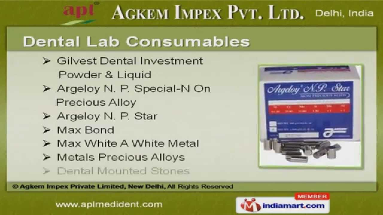 Dental Products by Agkem Impex Private Limited, Delhi