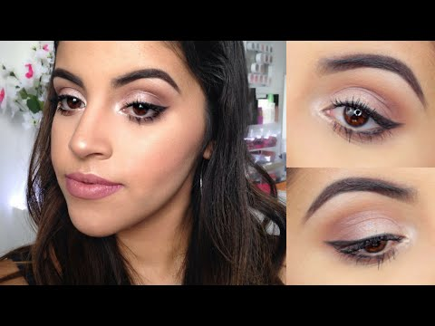 Makeup tutorials for blue eyes and brown hair