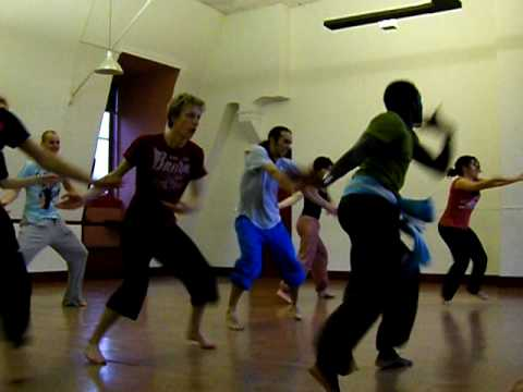African dance lesson 2