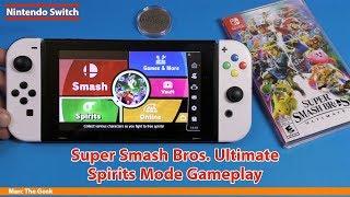 Super Smash Bros. Ultimate Spirits Mode Gameplay