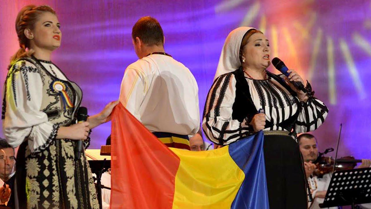 ZIUA NATIONALA a ROMANIEI Adriana si Mariana Anghel la Tezaur Folcloric