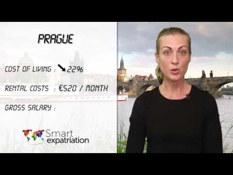 Prague - Cost of Living, Rental Costs & Gross Salary