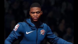 NBA Live 18: Westbrook mini highlights (w/ PG13)