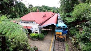 【オーストラリア】 キュランダ高原列車 キュランダ駅到着 Kuranda Scenic Railway, Kuranda Station (2017.3)