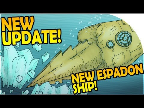 NEW SPEAR SUBMARINE - NEW Update + THE ESPADON Ship - We Need To Go Deeper Gameplay w/ Friends!