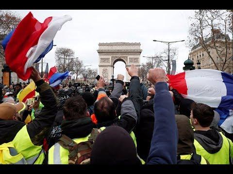 Edition spéciale RT France : suivez en direct les manifestations des Gilets Jaunes