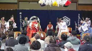 第4回憩い食堂『江津高校卒業神楽 神祇太鼓』