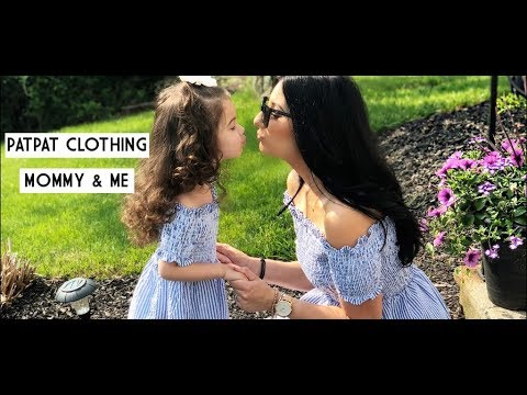 9c60eda75 PATPAT CLOTHING || MOMMY & ME || OUTFITS - YouTube