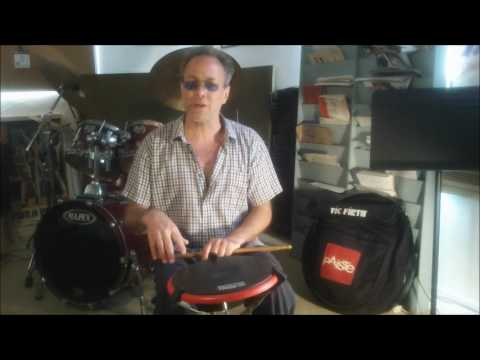Kevin Crabb Drums Demonstrating/Discussing