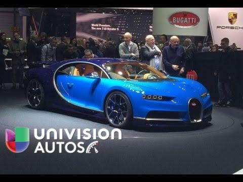 Video 360º Bugatti Chiron Desde Ginebra 2016 Youtube
