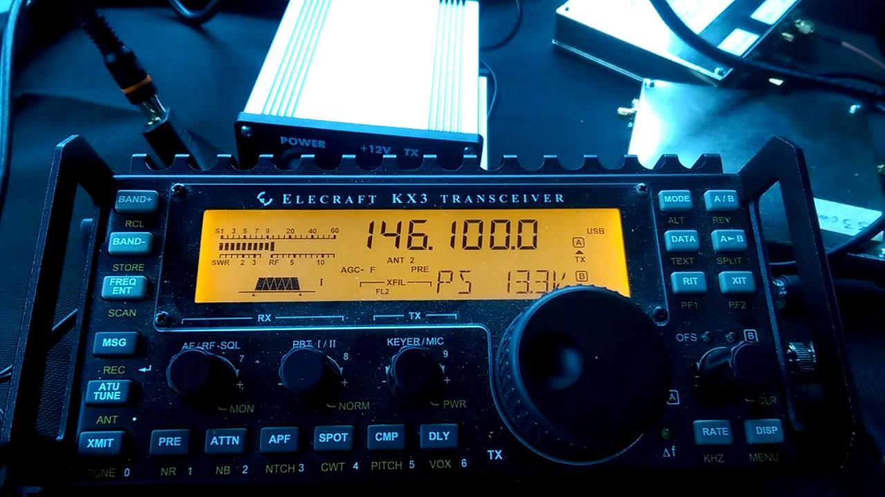 1 2 GHz SG-Lab Transverter With Elecraft KX3