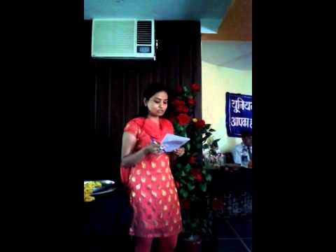 Song for retirement occasion by nidhi verma