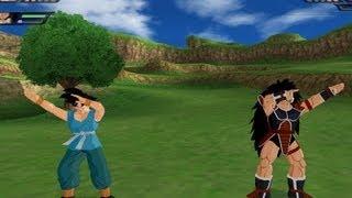 Repeat youtube video Goku and Raditz Fusion (Dragon Ball Z Budokai Tenkaichi 3 Mod)