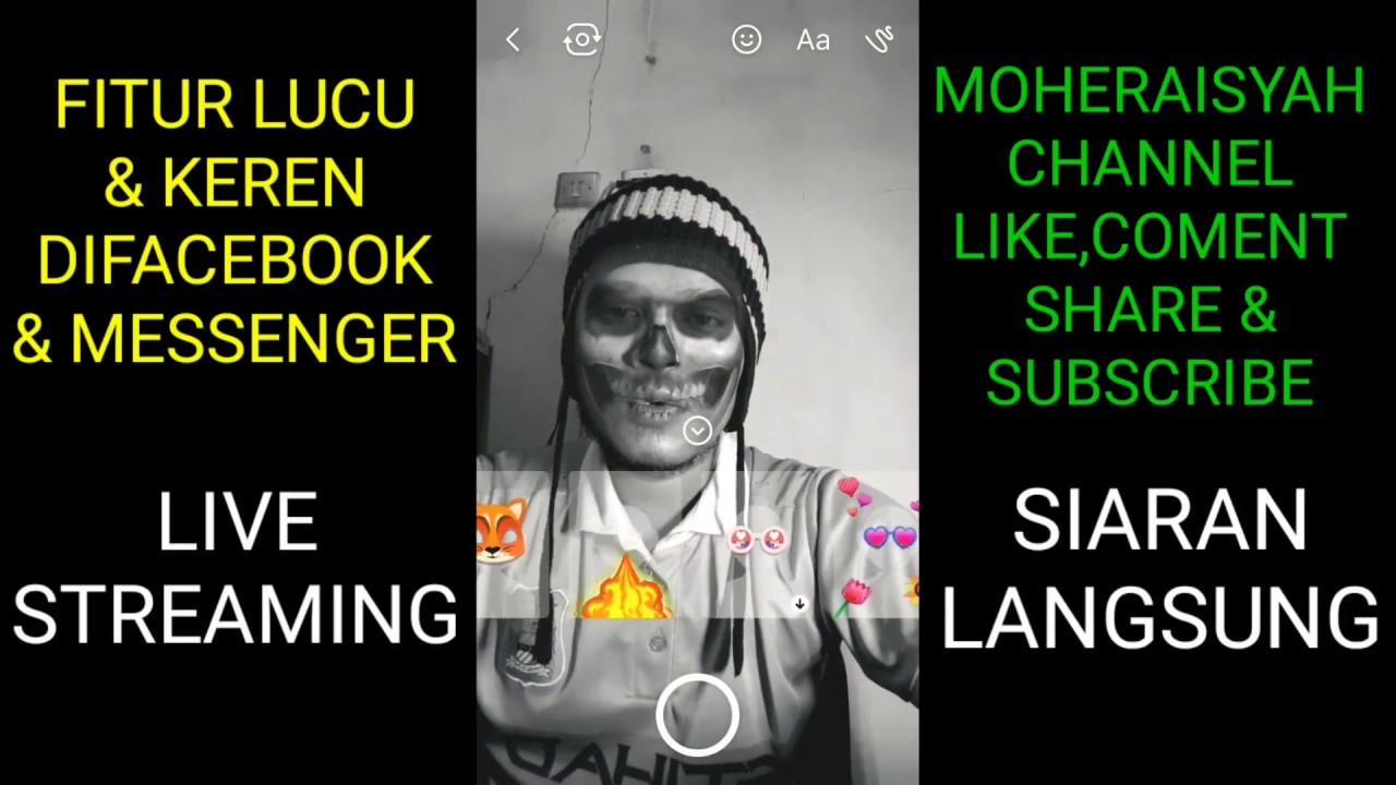 Fitur Lucu Keren Di Facebook Dan Messenger YouTube