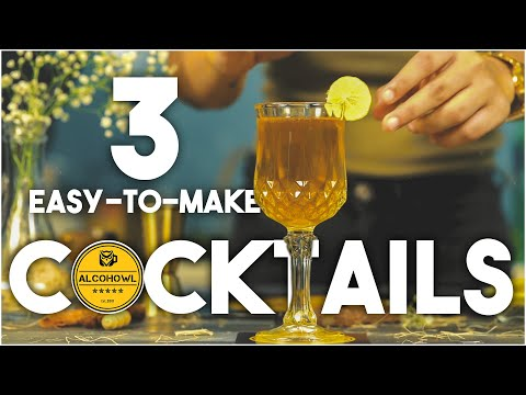 Easy Cocktails To Make At Home | Old Monk Cocktail Recipes