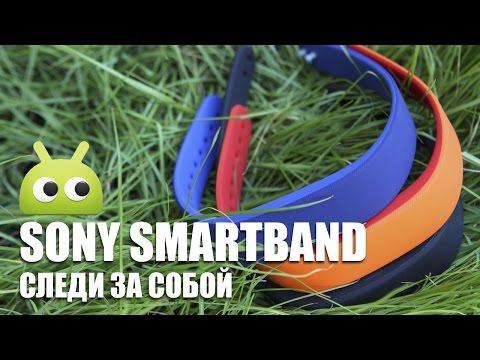 Sony SmartBand: следи за собой. Обзор AndroidInsider.ru