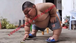 JT 19h l'enfant le plus gros au monde