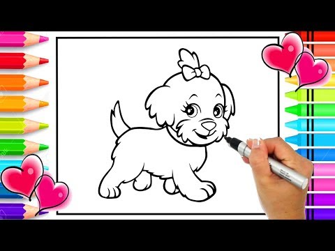 Free printable coloring pages of cats and dogs