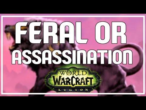 FERAL OR ASSASSINATION? - Feral Druid PvP Legion Beta