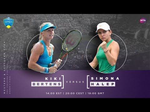 Kiki Bertens vs. Simona Halep | 2018 Western & Southern Open Final Preview