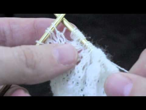 How To Knit Traditional Estonian Lace - Technique Of The Nupp