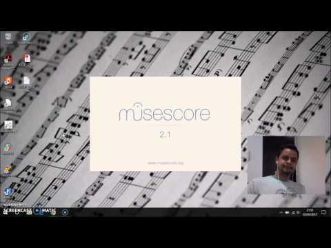Convertendo partitura de PDF para midi com o MuseScore 2