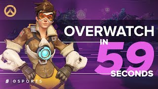 Overwatch (so far) in 59 Seconds