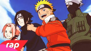 Rap do Kakashi, Naruto, Sasuke e Sakura - TIME 7 | NERD HITS