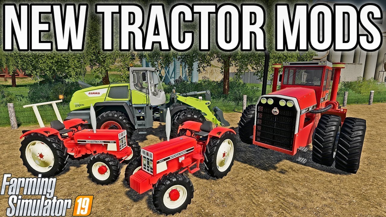 NEW MODS! CLASSIC TRACTORS & MORE! | Farming Simulator 19