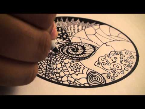 Lets Draw 001 How To Draw Zentangles Doodle Art