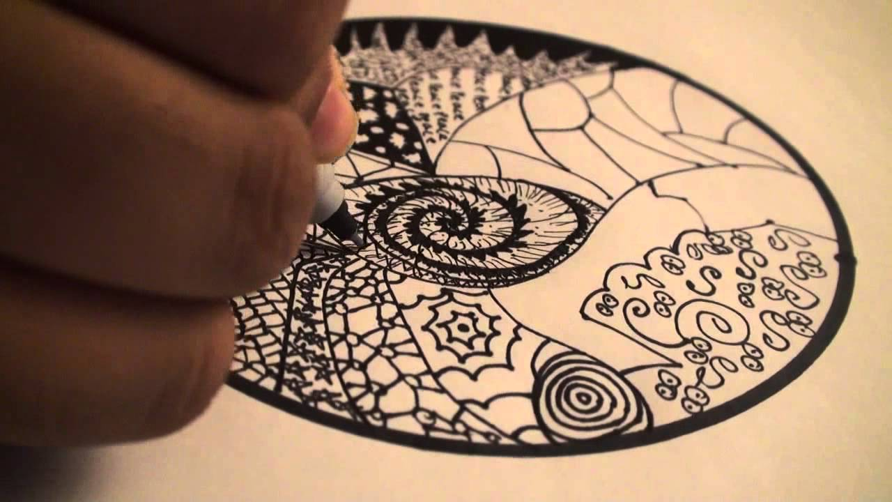 Let S Draw 001 How To Draw Zentangles Doodle Art